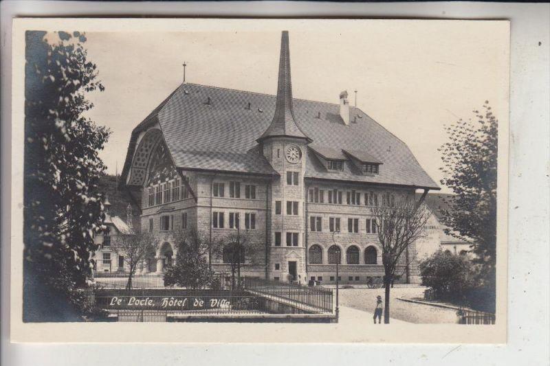 CH 2400 LE LOCLE, Hotel de Ville, Verlag. Guggenheim