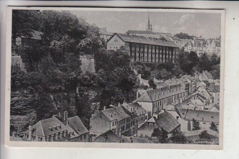 L 1000 LUXEMBURG, 1945, Photo Pohlen Düren