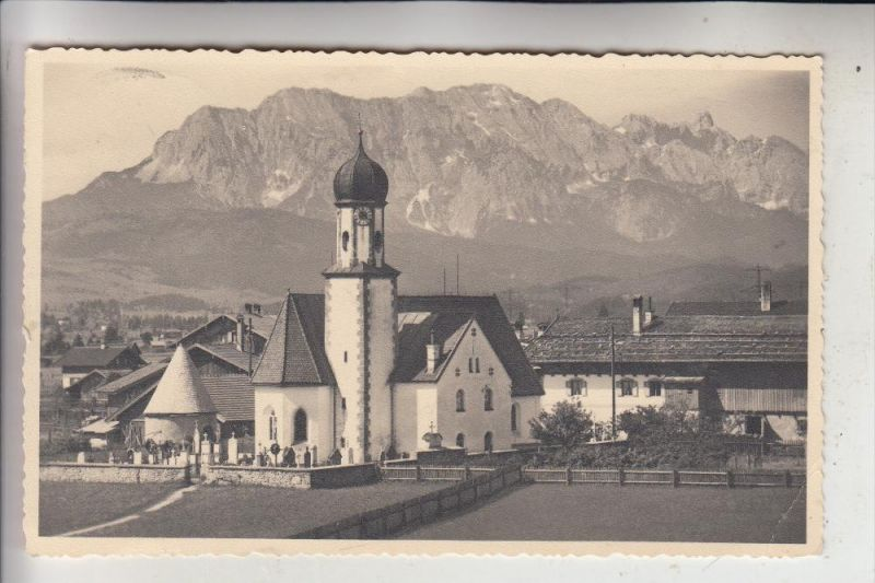 8109 WALLGAU, Kirche, 1949