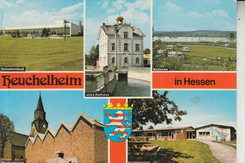 6301 HEUCHELHEIM, Mehrbildkarte