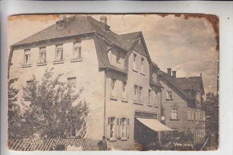 unbekannt - unknown - 2 Photo-AK, erstes Haus