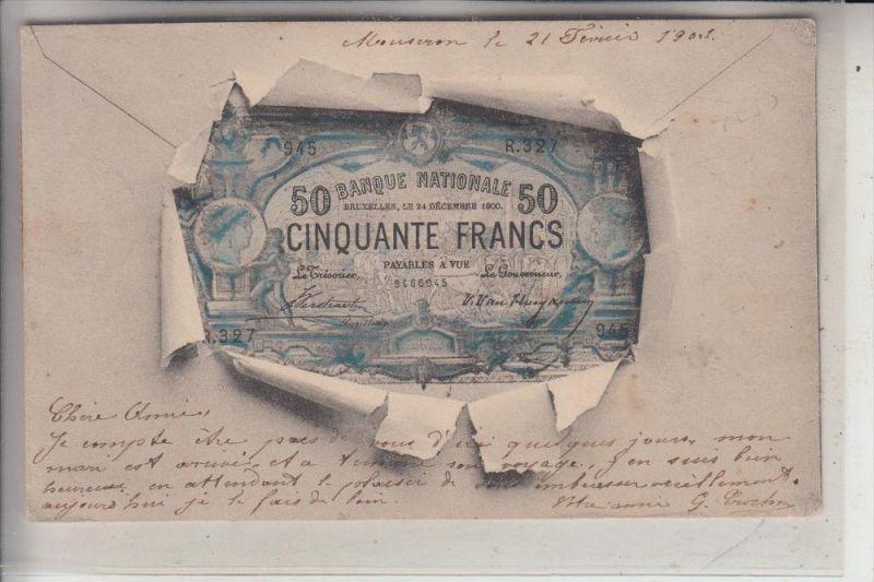 BANKNOTEN, Frankreich, 1903
