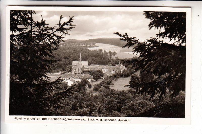 5238 HACHENBURG - MARIENSTATT, Abtei, 1951