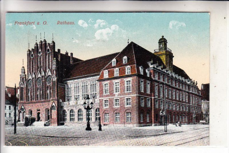 0-1200 FRANKFURT / Oder, Rathaus