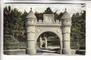 UK - SCOTLAND - ANGUS - DUNDEE-BROUGHTY FERRY, Jubilee Arch, 1907 post. used in Germany