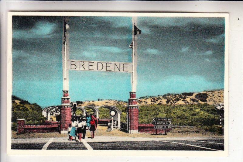 B 8450 BREDENE, Toegang tot het strand