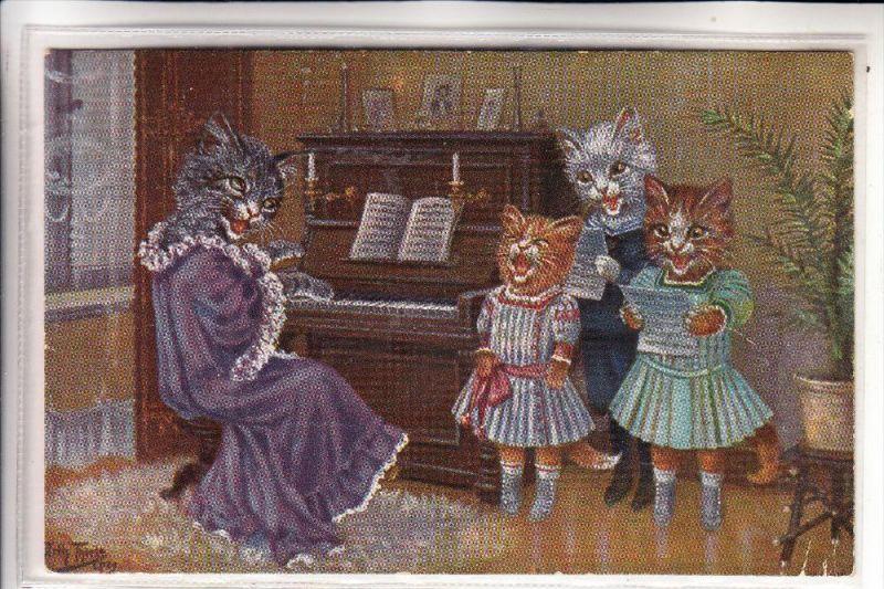 TIERE - KATZEN / Cats / Chat / Gato / Gatto / Kat - Künstler / Artist - Arthur Thiele, Theo Stroefer-Nürnberg, Serie1714
