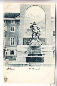 CH 6460 ALTDORF,Telldenkmal, 1900, Verlag. Stern & Löb - Frankfurt