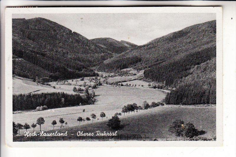5780 BESTWIG / Umgebung, Oberes Ruhrtal, 1950