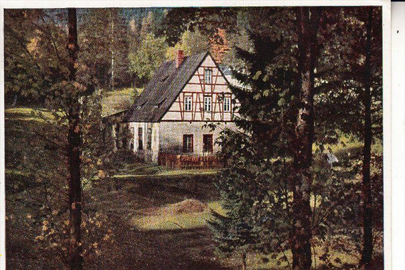 0-9434 BREITENBRUNN - ANTONSTHAL, Erzwäsche, 1950