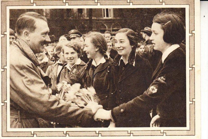 GESCHICHTE - Ganzsache III.Reich, Sonderstempel 50. Geburtstag des Führers