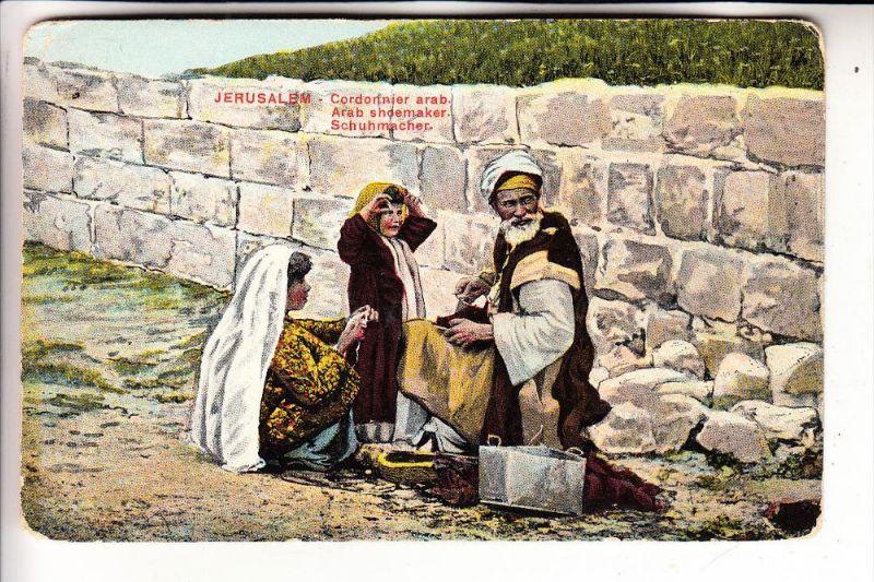 BERUFE - Schuhmacher / Shoemaker / Gordonnier -.Jerusalem