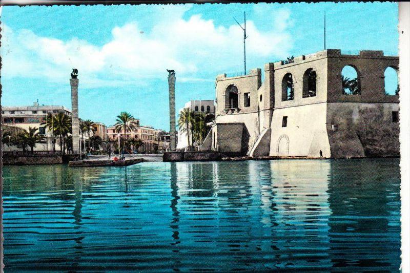 LIBYEN - TRIPOLI, Castle, 1960