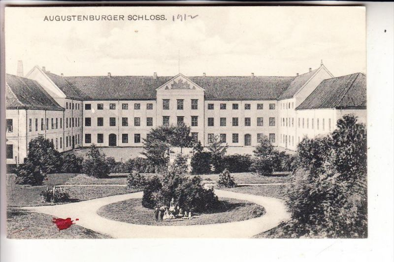 DK 6440 SONDERBURG, Schloss Augustenburg / Augustenborg, 1912, kl. Fleck