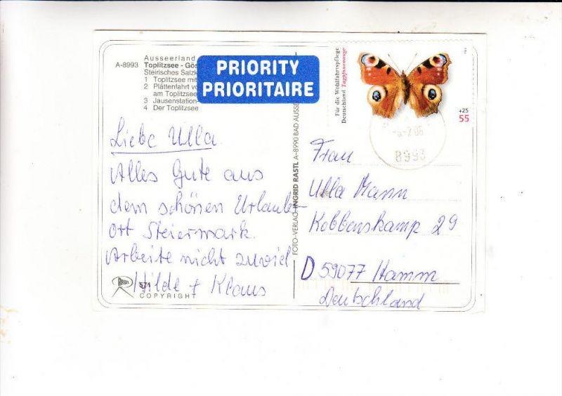 BUND, 2005, Michel 2504, Einzelfrankatur, in Österreich A-8993 6.7.06 abgestempelt