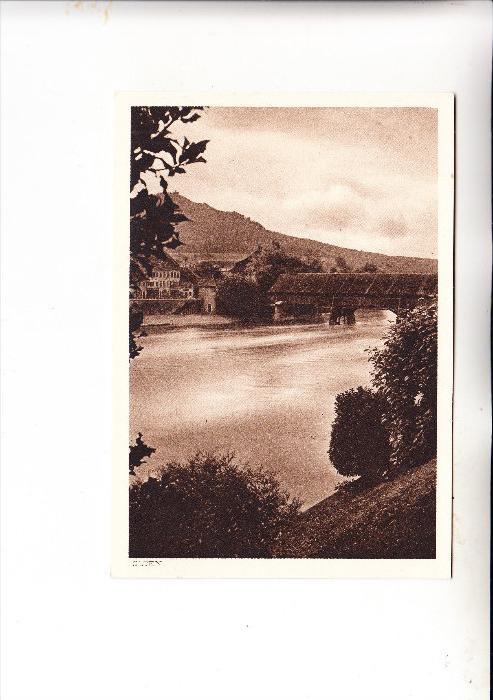 CH 4600 OLTEN, Aarebrücke