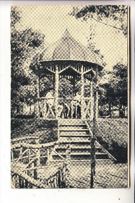 MILITÄR - 1.Weltkrieg, Westfront / Frankreich, Pavillon im Waldlager, 1918, deutsche Feldpost