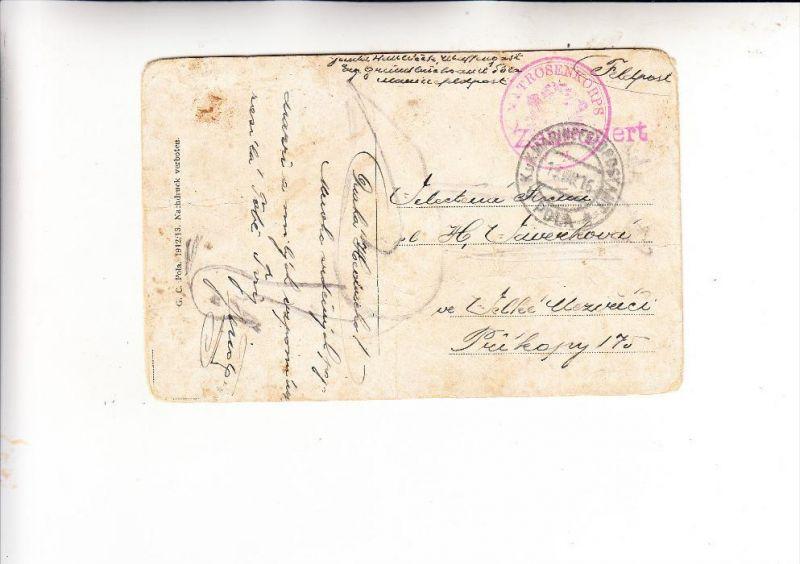 ÖSTERREICH - 1916, 1.Weltkrieg, Marienefeldpostamt POLA, Matrosenkorps