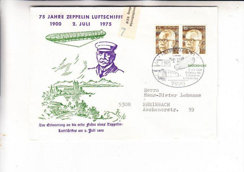 JUSTIZ - GEFÄNGNIS - Zensur JVA Rheinbach, Gefangenen Briefverschlußmarke 1975