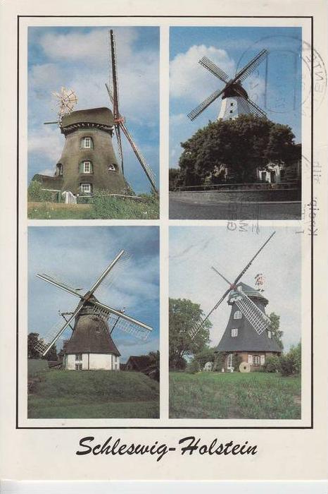 MÜHLE - Molen - mill, Windmühle Mühlen Schleswig-Holstein
