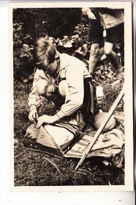 PFADFINDER / BOY SCOUTS, deutscher Pfadfinder 1934