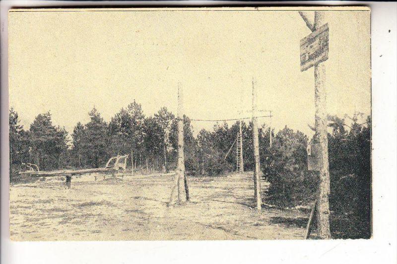 MILITÄR - 1.Weltkrieg, Stadion für Wett- und Turnspiele im Waldlager, deutsche Feldpost, 1918