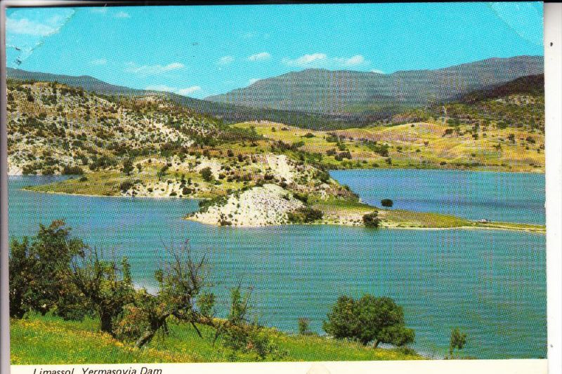 ZYPERN / CYPRUS, LIMASSOL. Dam