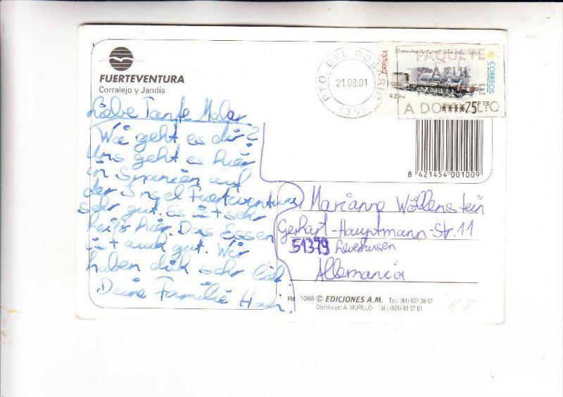 ESPANA / SPANIEN - ATM Automatenmarke 53, AK
