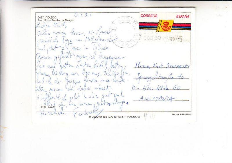 ESPANA / SPANIEN - ATM Automatenmarke 4 III, AK