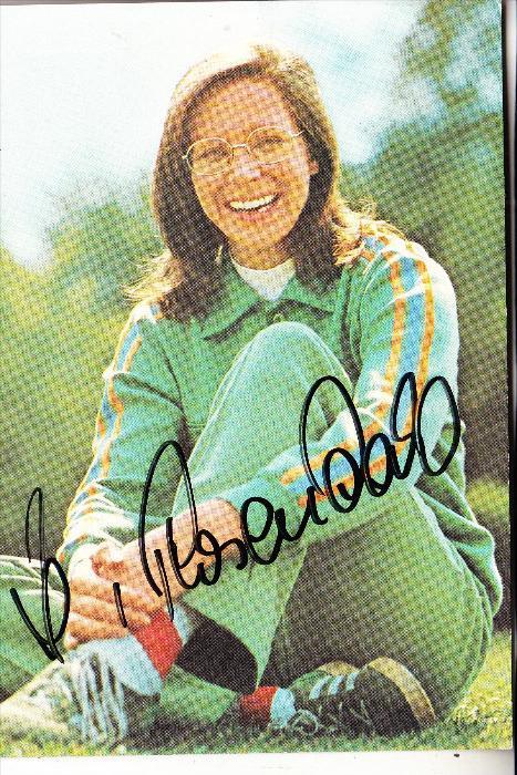 SPORT - LEICHTATHLETIK - HEIDE ROSENDAHL, Olympia - Siegerin 1972, Autogramm