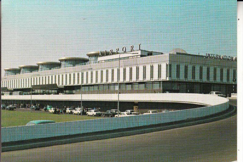FLUGHAFEN / AIRPORT - LENINGRAD, Pulkovo Airport, 1973