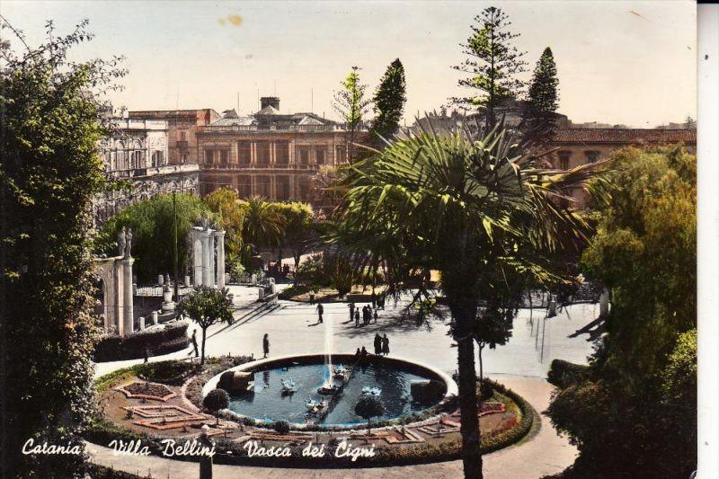 I 95100 CATANIA, Villa Bellini, 1955