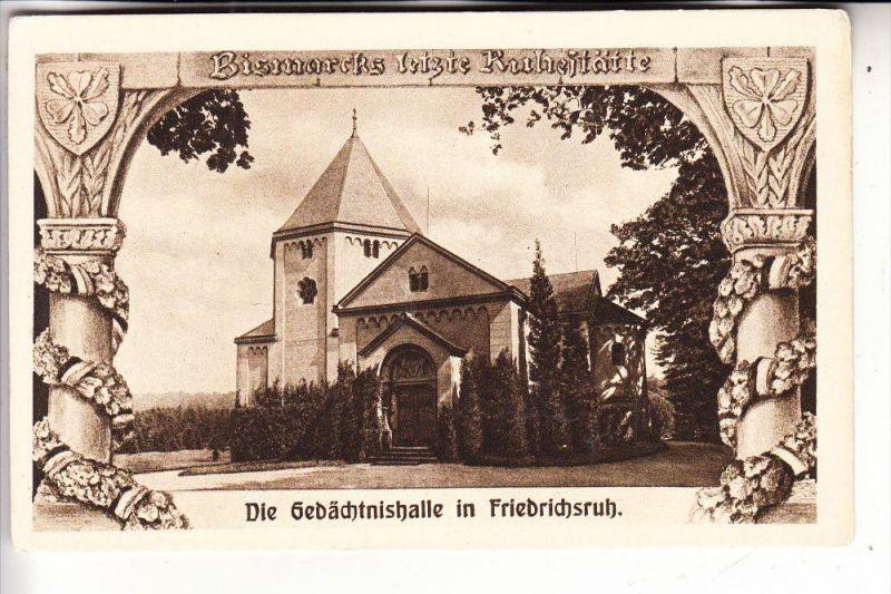BERÜHMTE PERSONEN, FÜRST BISMARCK, Gedächtnishalle in Friedrichsruh