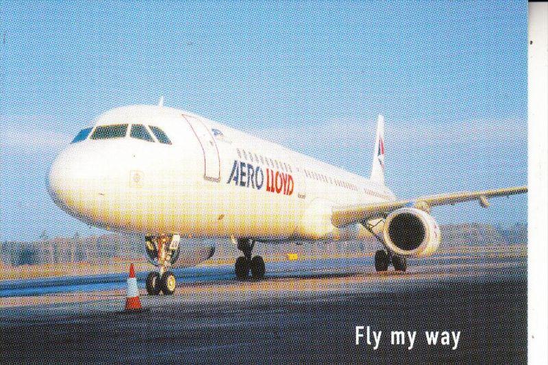 FLUGZEUGE / Airplanes / Avion - Airbus A321, AERO LLOYD