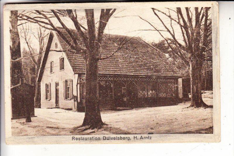 4193 KRANENBURG - WYLER, Restauration Duivelsberg, 192..