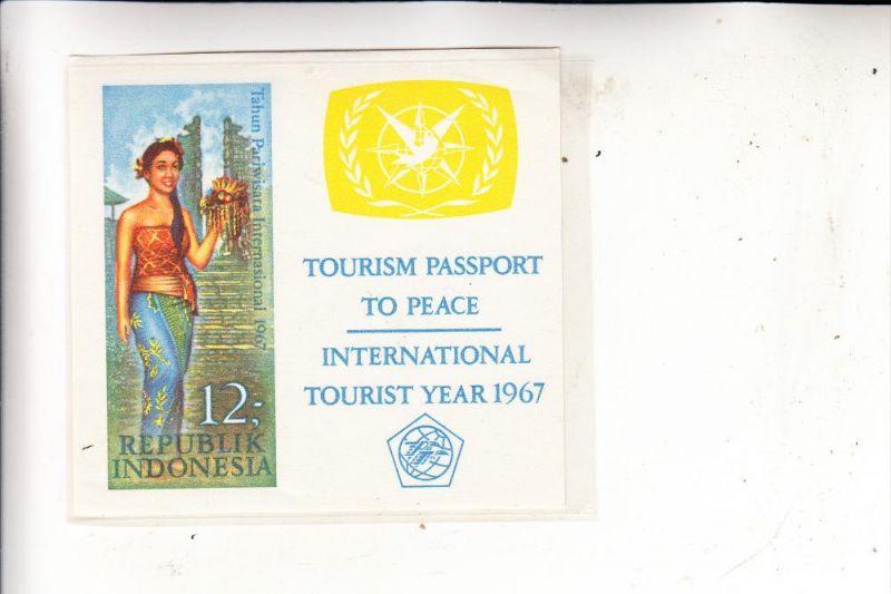INDONESIA / INDONESIEN, 1967, Michel Block 7 **, postfrisch