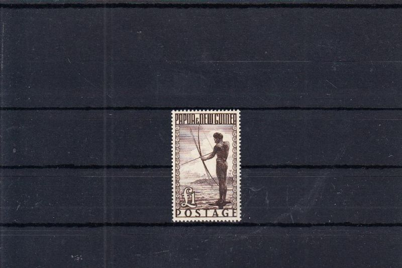 PAPUA NEW GUINEA, 1952, Michel 23, ** postfrisch