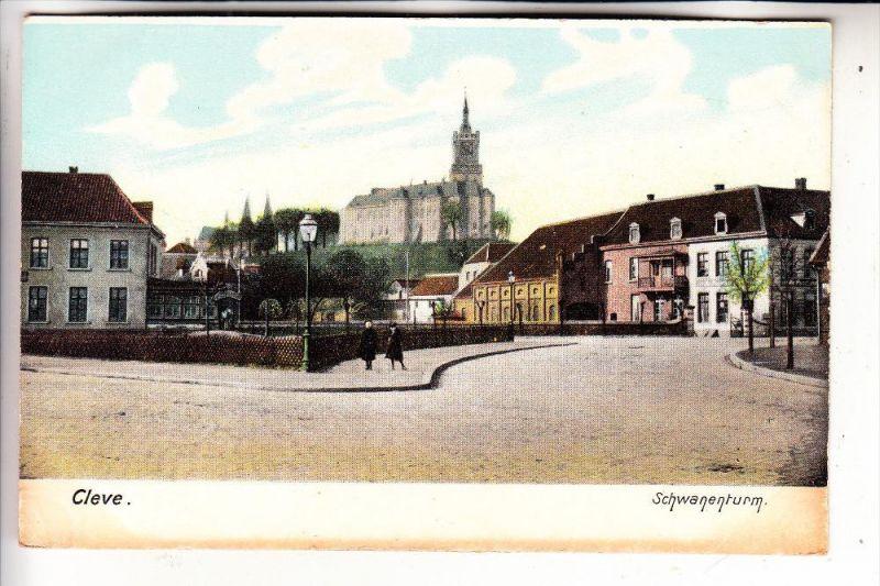 4190 KLEVE, Schwanenburg, ca. 1905