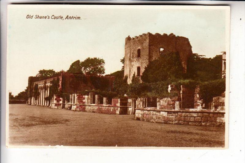 UK - NORTH IRELAND - ANTRIM, Old Shane's Castle
