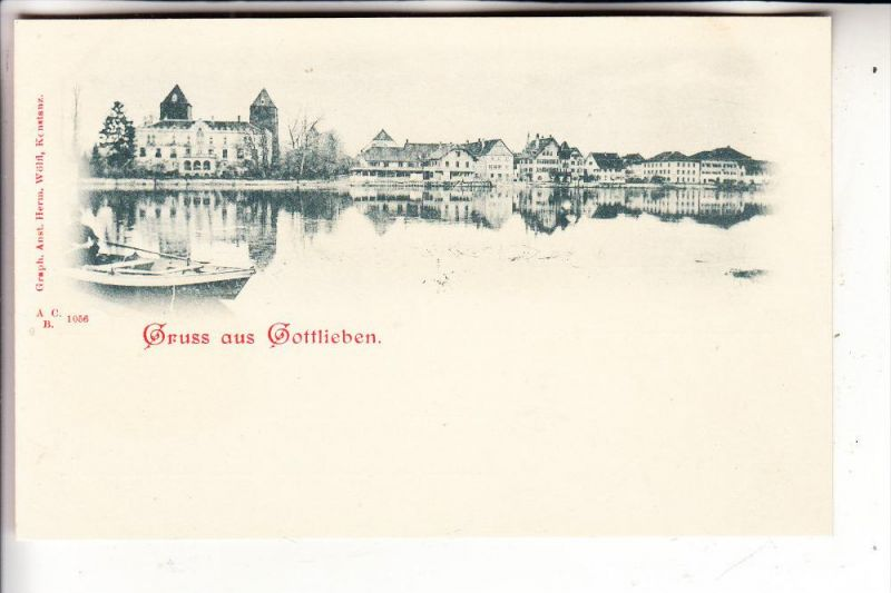 CH 8274 GOTTLIEBEN, Gruss aus..., ca. 1905