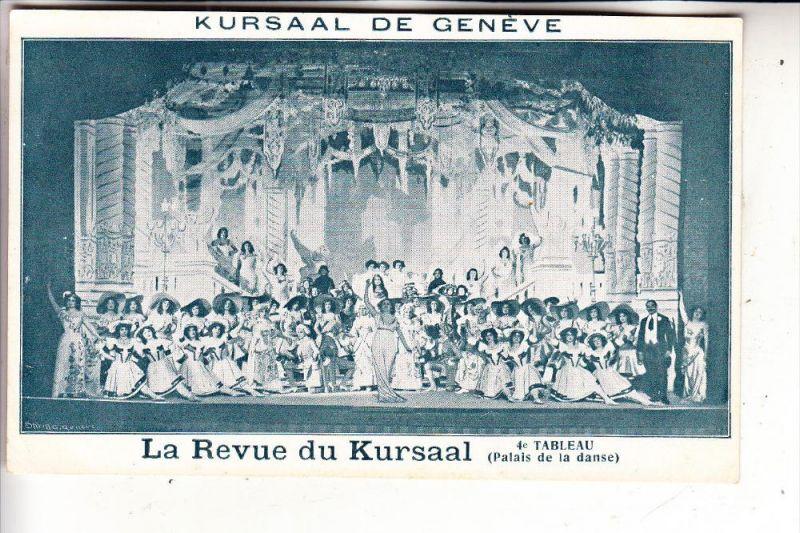 CH 1200 GENF / GENEVE GE, La Revue du Kursaal, 4e Tableau
