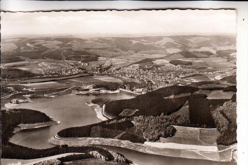 5778 MESCHEDE, Hennesee, Luftaufnahme, 1958
