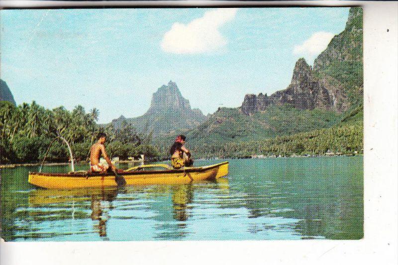 TAHITI - Cook's bay, 1973