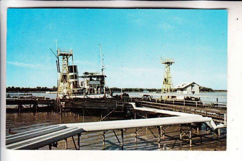 IRAN / PERSIEN - ABADAN, Port, loading Oil