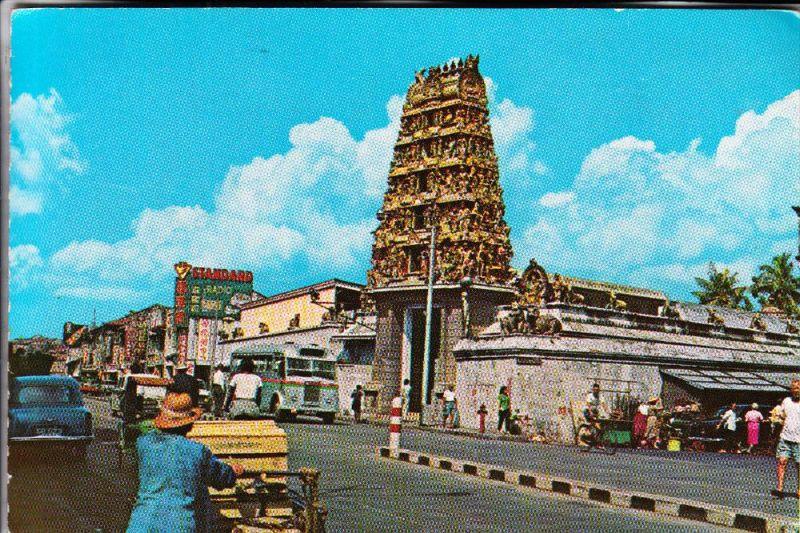 SINGAPORE / SINGAPUR, Indian Temple, traffic