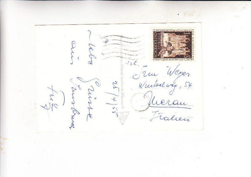 ÖSTERREICH, 1954, Michel 1008, AK-Einzelfrankatur nach Deutschland