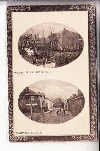 UK - ENGLAND - CUMBRIA - WARWICK BRIDGE, Mill, street scene
