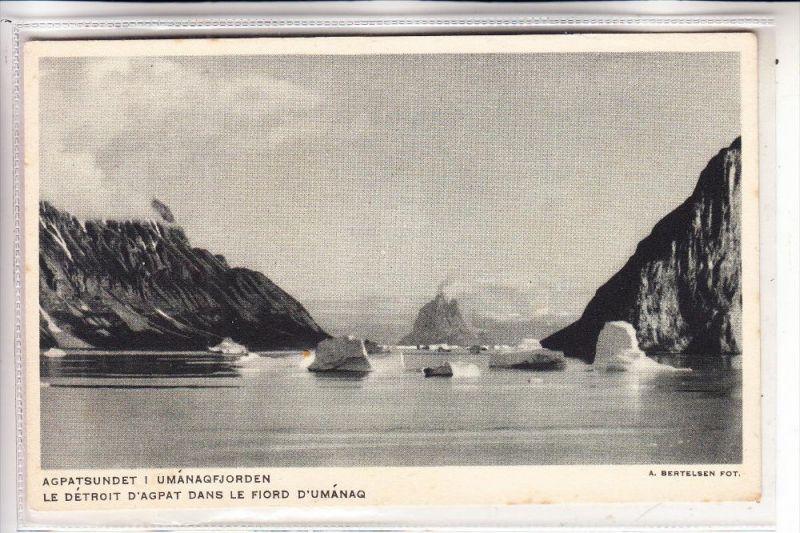 GRÖNLAND / GREENLAND, Polar, Agpatsundet i Umanaqfjorden