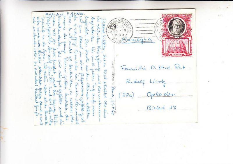 VATICAN - 1953, Unificato 164, Einzelfrankatur nach Deutschland