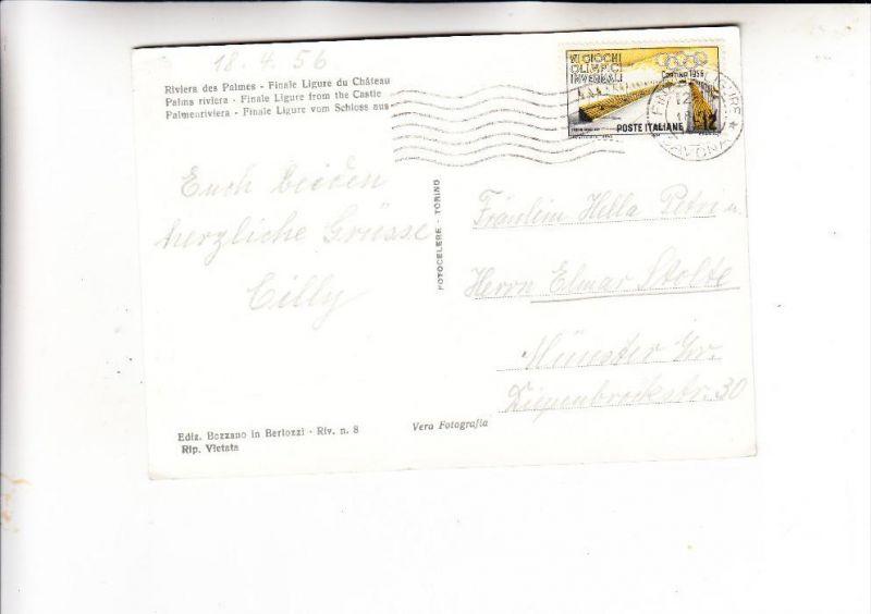 ITALIA / ITALIEN - 1956, Unificato 794, Einzelfrankatur nach Deutschland